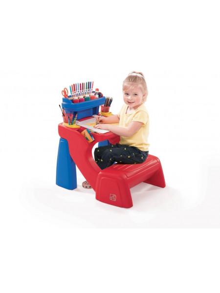 Дитячий стіл для творчості з лавою