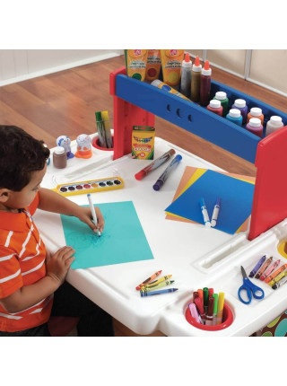 Пластиковая детская парта Творческий проект со стульчиком