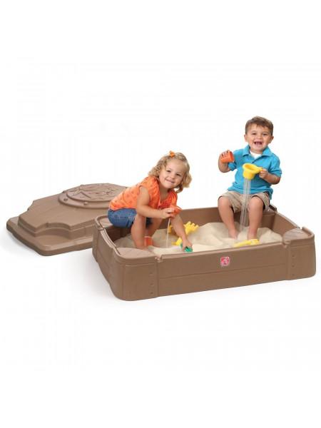 Песочница пластиковая с дном Play & Store