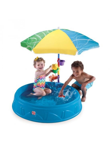 Песочница-бассейн зонтом Играть в тени
