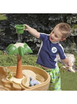 Стол для игры с песком и водой Дино