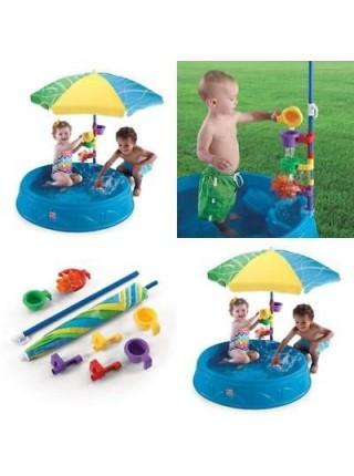 Пісочниця-басейн парасолькою Грати в тіні