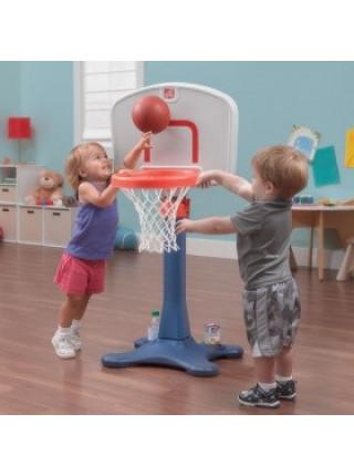 Дитяча баскетбольна стойка з м'ячем