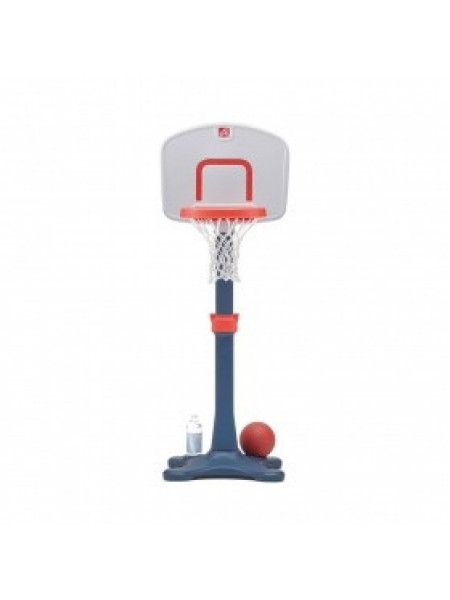 Детская баскетбольная стойка с мячом