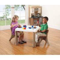 Детский столик со стульчиками пластиковый
