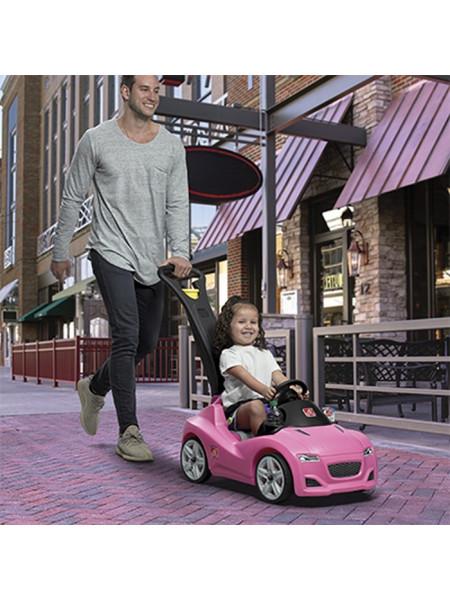 Детский толокар Whisper Ride Gruiser розовый