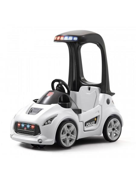 Детский толокар TURBO COUPE патрульная машина