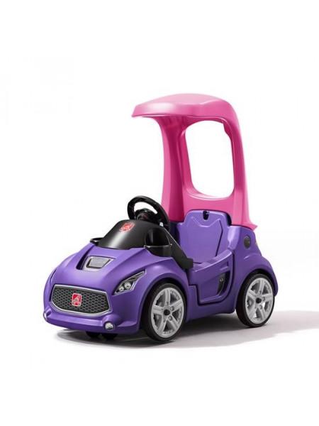 Детский толокар TURBO COUPE фиолетовый