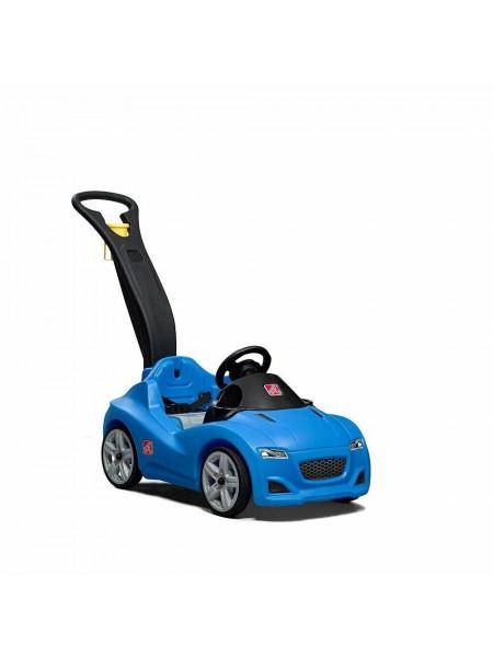 Детская машинка-каталка Whisper Ride Gruiser синяя