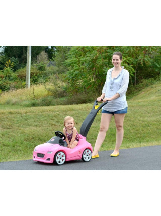 Дитячий толокар Whisper Ride Gruiser рожевий