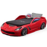 Кровать-машинка для мальчика Corvette Z06
