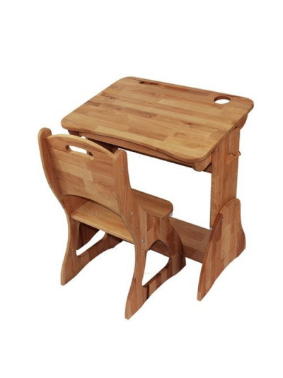 Парта растущая с ящиком и стулом бук