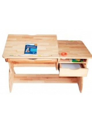 Парта-трансформер деревянная Люкс 120 см