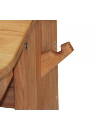 Комплект парта, стілець, полиця 90 см