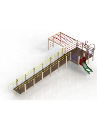 Игровой комплекс для детей с ограниченными возможностями