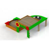 Песочница для детей с особыми потребностями