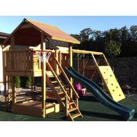 Дитячий дерев'яний майданчик Spielplatz-11