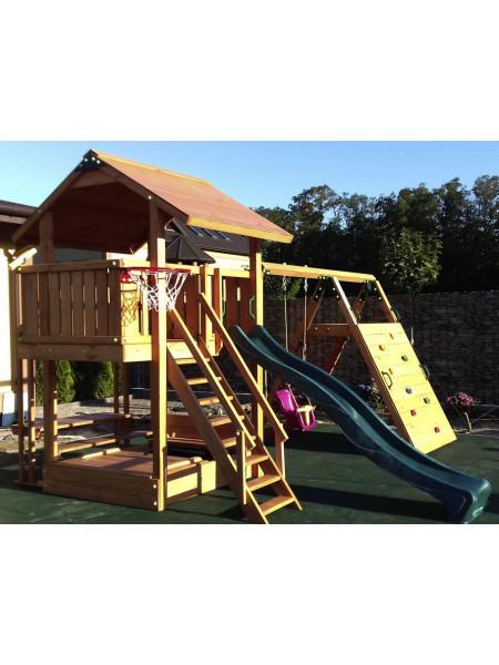 Детская деревянная площадка Spielplatz-11