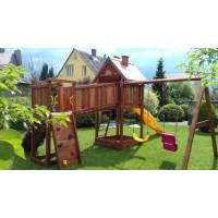 Деревянная игровая площадка Spielplatz-9