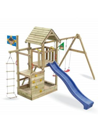 Игровой комплекс из дерева Данилушка-1