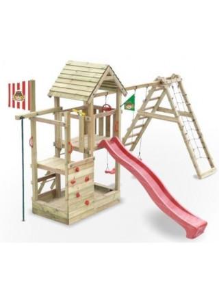 Игровой комплекс из дерева Данилушка-3