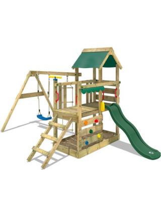 Игровой комплекс из дерева Данилушка-4