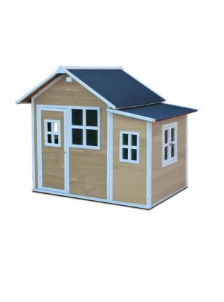 Дерев'яний будиночок для дітей великий