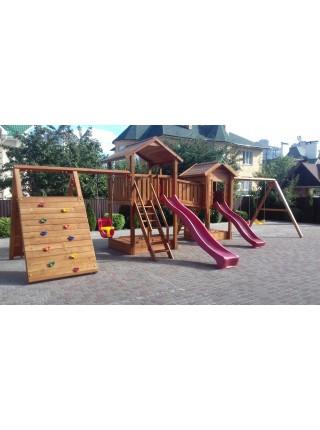 Деревянная игровая площадка Spielplatz-14