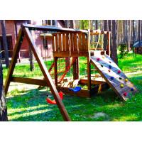 Деревянная игровая площадка Spielplatz-16
