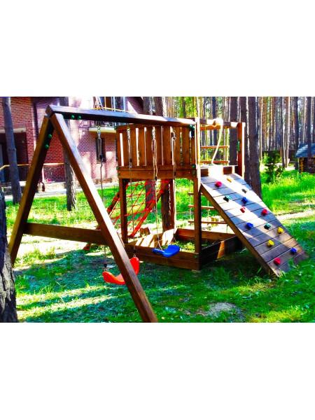 Дерев'яний майданчик Spielplatz-16