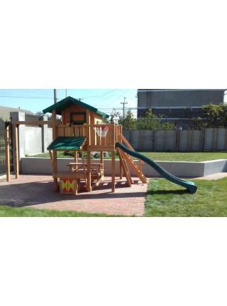 Деревянная игровая площадка Spielplatz-3