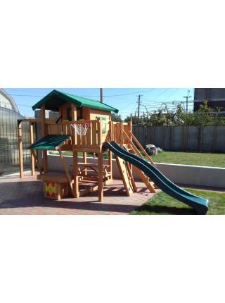 Дерев'яний майданчик Spielplatz-3