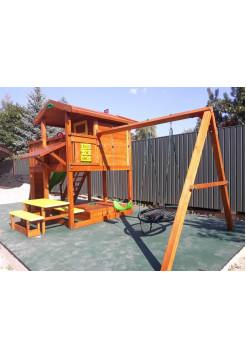 Деревянная игровая площадка Spielplatz-4