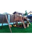 Деревянная игровая площадка Spielplatz-5