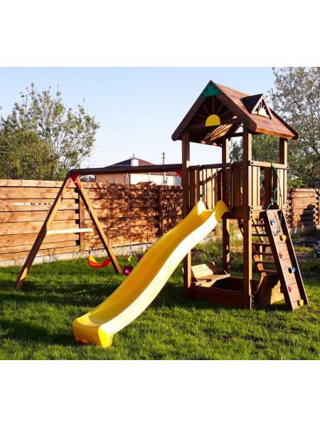 Дерев'яний майданчик Spielplatz-6