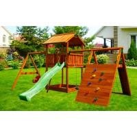 Деревянная игровая площадка Spielplatz-7