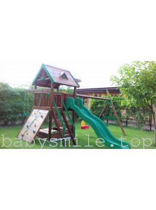 Игровая площадка из дерева Spielplatz-23