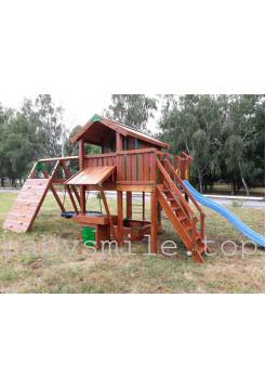 Игровой комплекс из дерева Spielplatz-24
