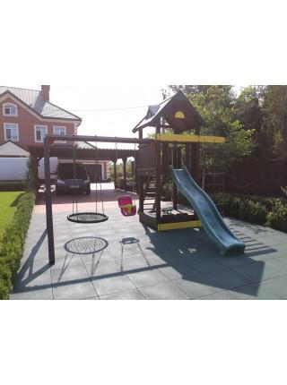 Дитячий дерев'яний майданчик Spielplatz-10