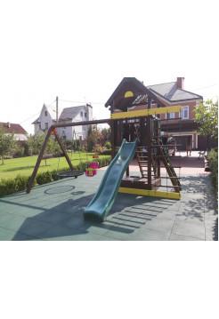 Деревянная игровая площадка Spielplatz-10