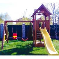 Деревянная игровая площадка Spielplatz-12