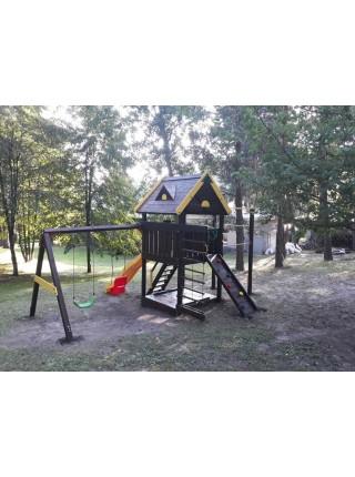 Деревянная игровая площадка Spielplatz-18