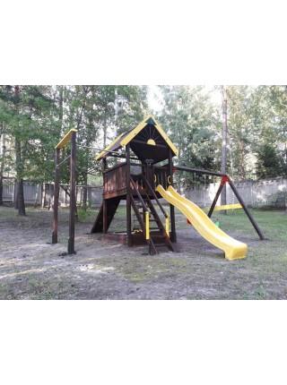 Дерев'яний майданчик Плаза Spielplatz-18