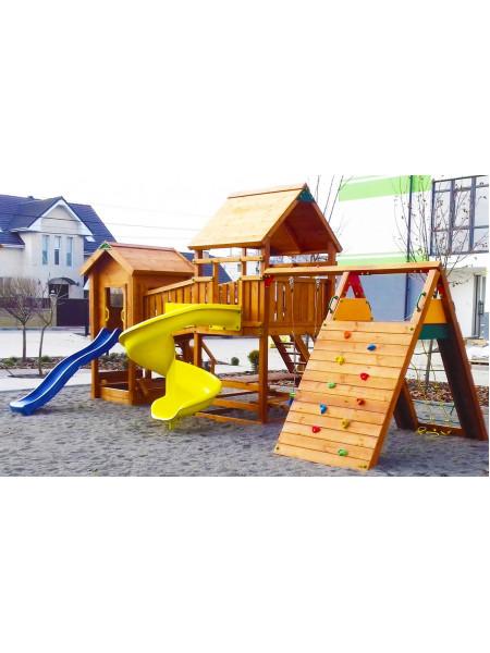 Дерев'яний майданчик Spielplatz-19