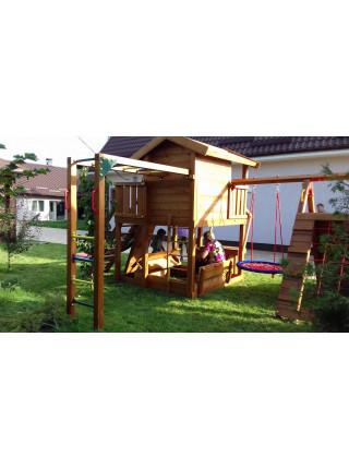 Дитячий дерев'яний майданчик Spielplatz-13