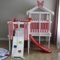 Будиночок ліжко з ігровим комплексом