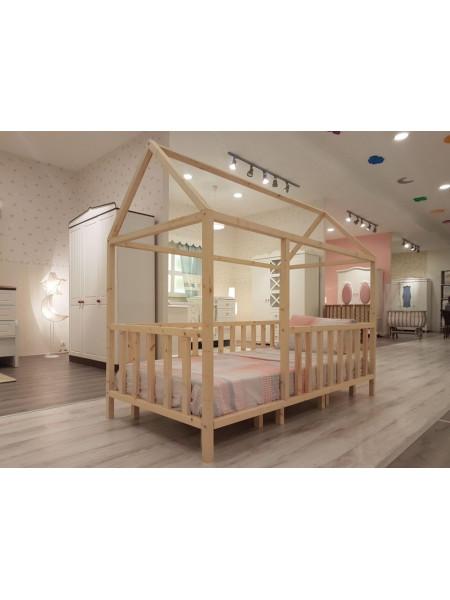 Ліжко дитяче у вигляді будиночка