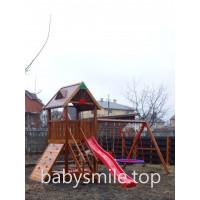 Дерев'яна дитячий майданчик Spielplatz-20