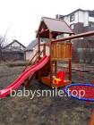 Деревянная детская площадка Spielplatz-20