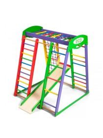 Дитячий спортивно-ігровий комплекс для дому Акварелька mini 150см